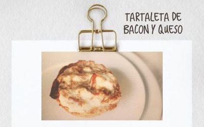 Receta tartaleta de bacon y queso